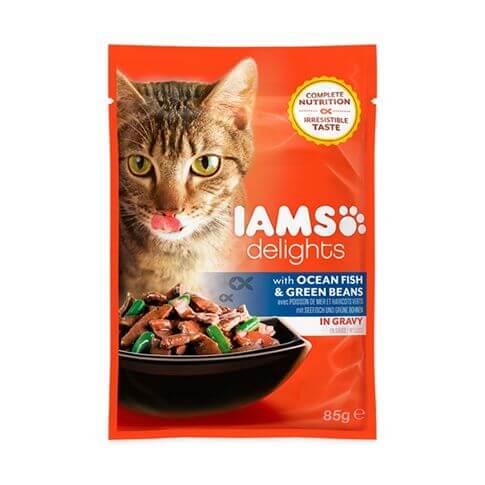 IAMS Adult Delights Meerfisch & Bohnen
