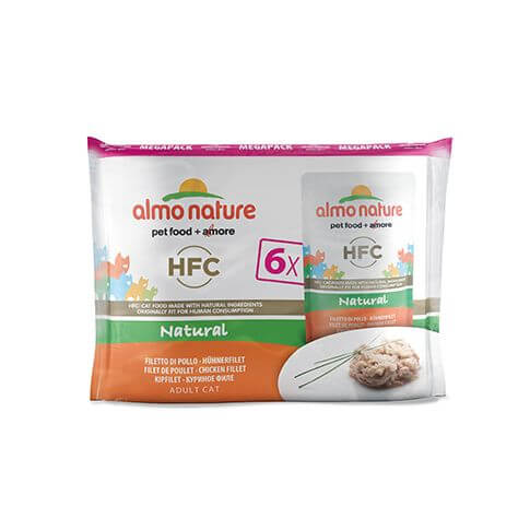 Almo Nature HFC Natural Multipack Hühnerfilet