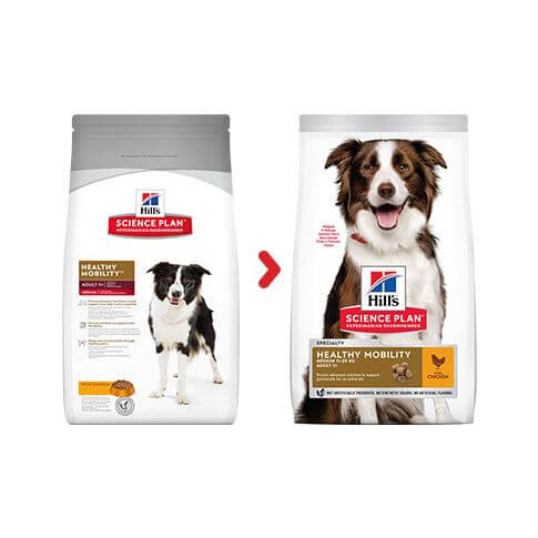 Hill's Canine Adult Medium Healthy Mobility Huhn