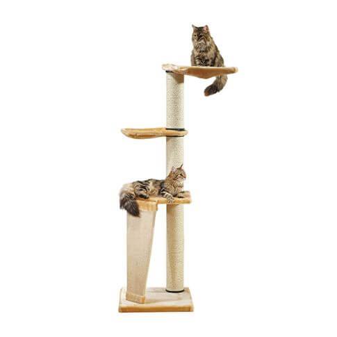 Katzenbaum Pisa beige