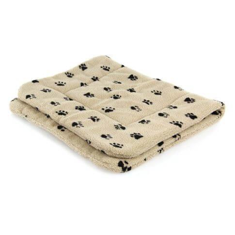 Sherpafleece-Decke Pfötchen