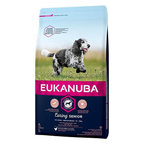 Eukanuba Caring Senior Medium mit Huhn