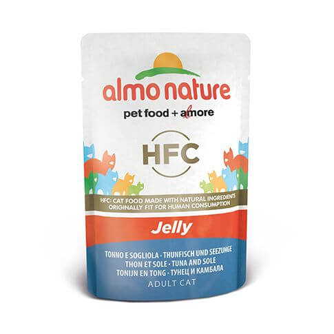 Almo Nature HFC Natural Thun & Seezunge in Jelly