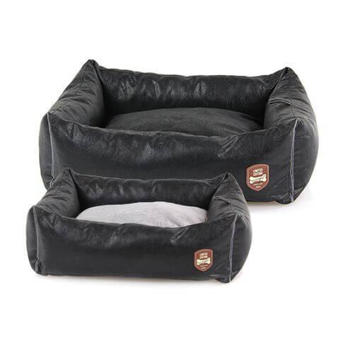 Hunde- & Katzenbett Peppino schwarz