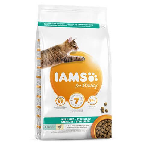 IAMS for Vitality Adult Sterilised Chicken