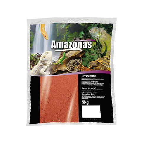 Amazonas Terrariensand feucht rot