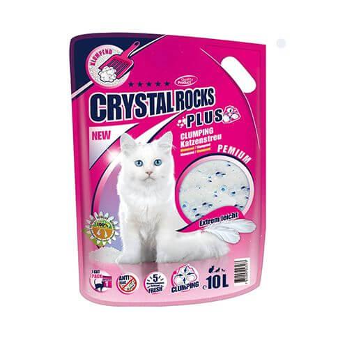 Katzenstreu Crystal Rocks Plus