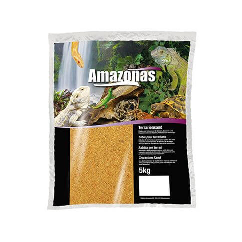 Amazonas Terrariensand trocken orange