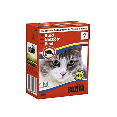 Bozita Cat Häppchen in Sosse Rind