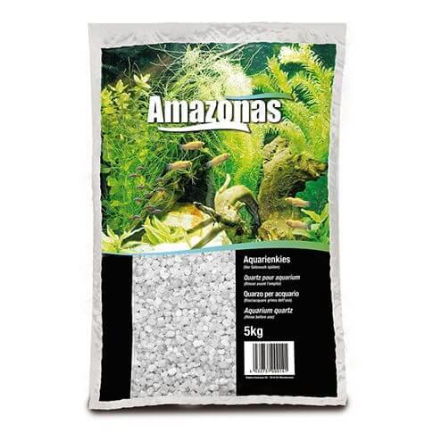 Amazonas Quarzkies hellgrau 1-2mm