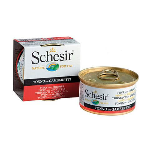 Schesir Thunfisch & Garnelen in Jelly