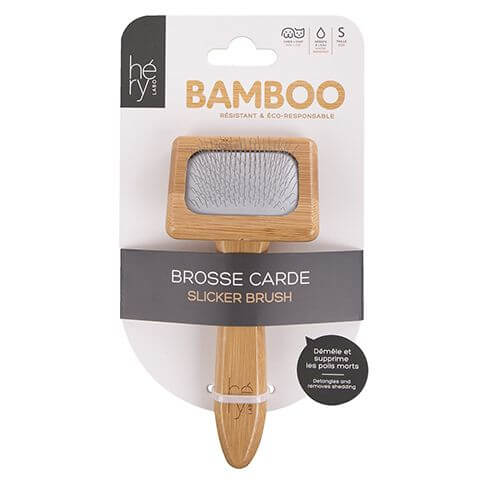Bamboo Feinstahlbürste S