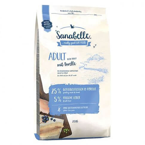 Cat Sanabelle Adult mit Forelle