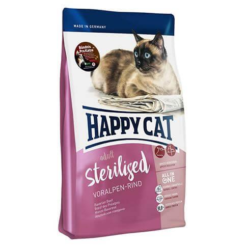 Happy Cat Supreme Adult Sterilised Voralpen-Rind