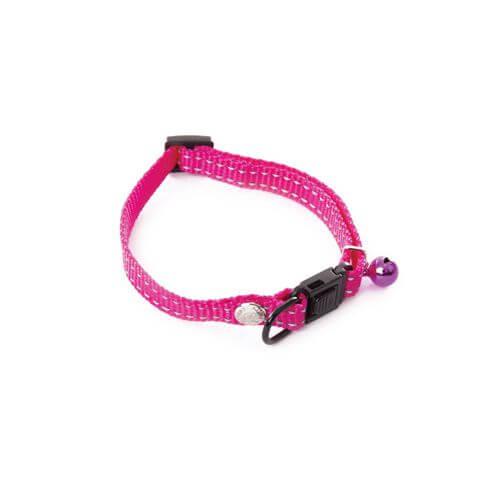 Martin Sellier Flash Katzenhalsband rosa