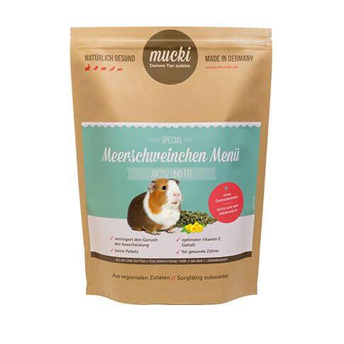 Mucki Meerschweinchen Menü Aktiv & Fit