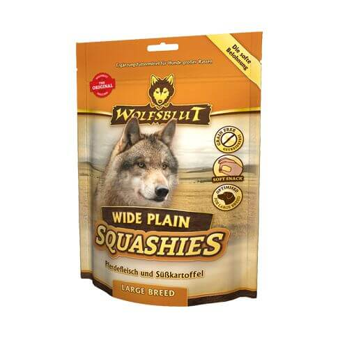 Wolfsblut Wide Plain Large Breed Squashies mit Pferd