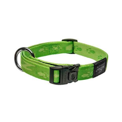 Rogz Halsband Alpinist grün
