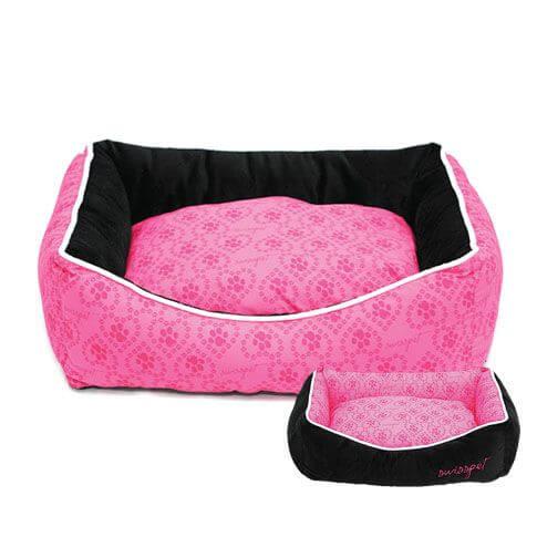 Katzenbett / Hundebett Pawi, rosa