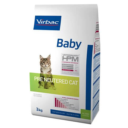Virbac Veterinary HPM Baby Cat Pre Neutered
