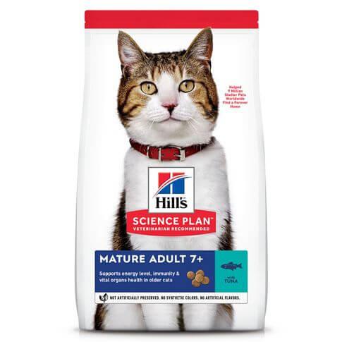 Hill's Science Plan Katze Mature Adult 7+ Thunfisch