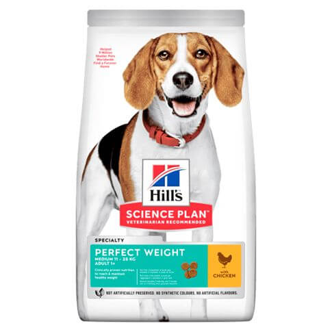 Hill's Science Plan Hund Adult Perfect Weight Medium Huhn