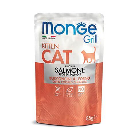 Monge Grill Cat Kitten Salmon