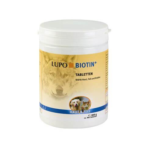 Lupo Biotin+ Tabletten für Hunde und Katzen