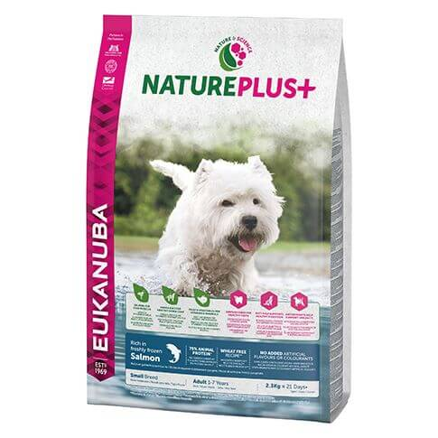Eukanuba Nature Plus Adult Small Lachs