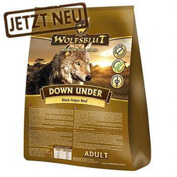 Wolfsblut Down Under Adult mit Black Angus